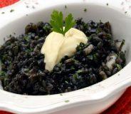 Paella arroz negro