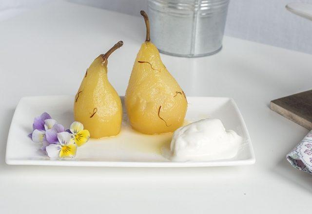 Peras al Carajillo